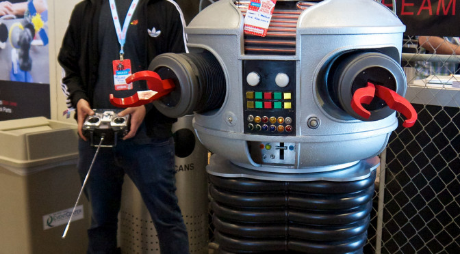 "How I Got My Very Own Robot from ""Lost in Space"""