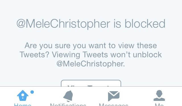 My Son Blocks Me on Twitter…The Indignity!