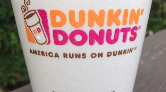 I Worship at the Church of Dunkin' Donuts