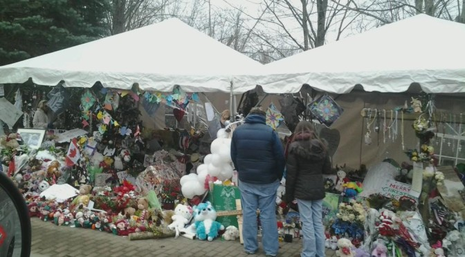 Remembering the Sandy Hook Elementary School Shootings in Newtown