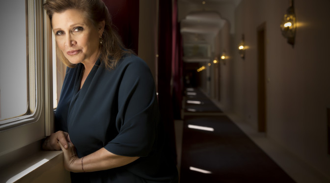 Actress_Carrie_Fisher_©_Riccardo_Ghilardi_photographer