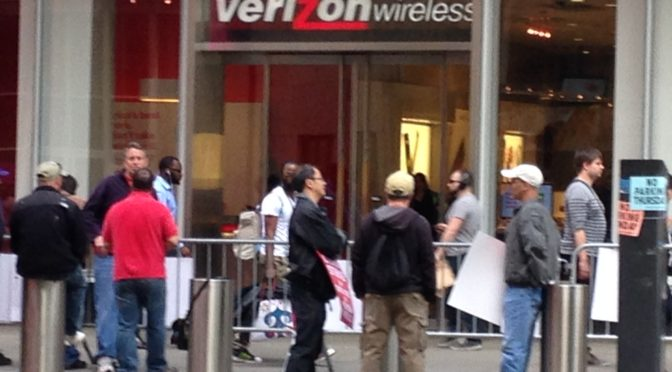The Verizon Strike, Men and Job Insecurity