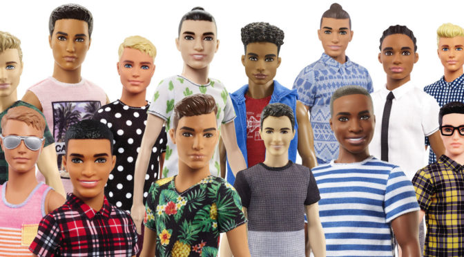 Here's a New (More Realistic) Line of Ken Dolls