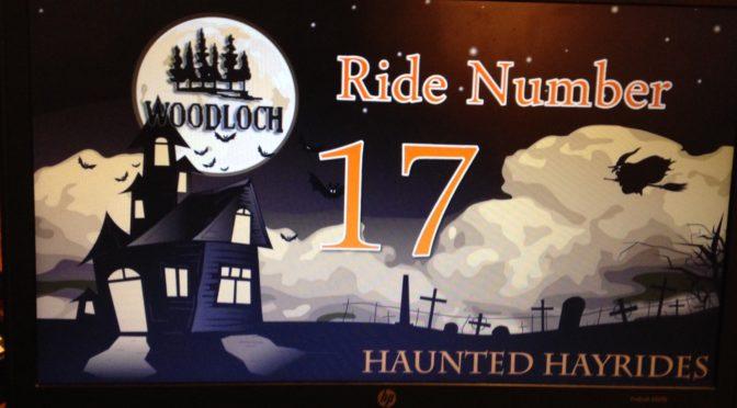 On a Haunted Hayride, A-Shrieking I Will Go