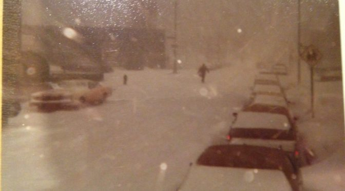 Memories of Snowstorms in the Bronx